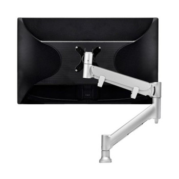 Atdec Direct to Desk Single Monitor Display Mount for up to 43in - Silver Product Image 2
