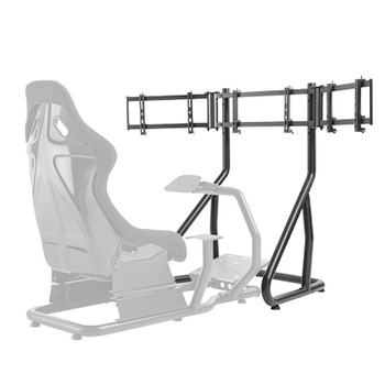 Brateck Racing Simulator Cockpit Triple Monitor Stand 24in-32in Product Image 2