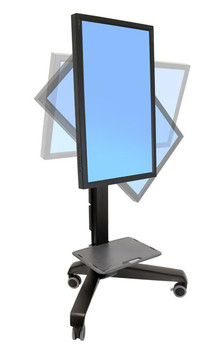 Ergotron 24-192-085 Neo-Flex Mobile MediaCenter UHD Product Image 2