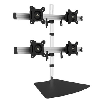 Image for Vision Mounts Free Standing Quad LCD Monitor 15in-24in AusPCMarket