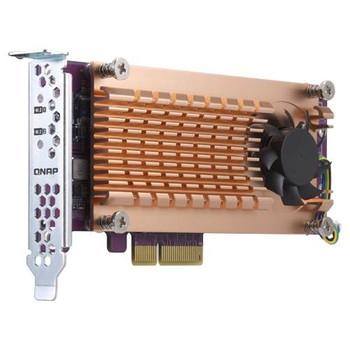 Image for QNAP QM2-2P-244A Dual M.2 22110/2280 PCIe SSD Expansion Card AusPCMarket