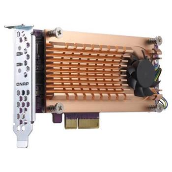 Image for QNAP QM2-2S-220A Dual M.2 22110/2280 SATA SSD Expansion Card AusPCMarket