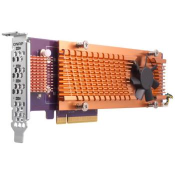 Image for QNAP QM2-4P-342 Quad M.2 2280 PCIe SSD Expansion Card AusPCMarket