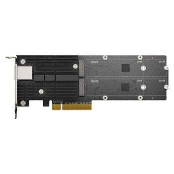 Synology E10M20-T1 M.2 SSD & 10GbE Combo Adapter Card Product Image 2