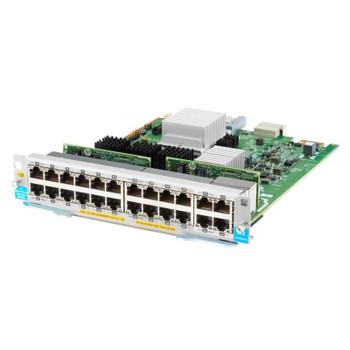 Image for HPE Aruba 20-Port 10/100/1000BASE-T PoE+ 4-Port 10GBASE-T MACsec v3 ZL2 Module AusPCMarket