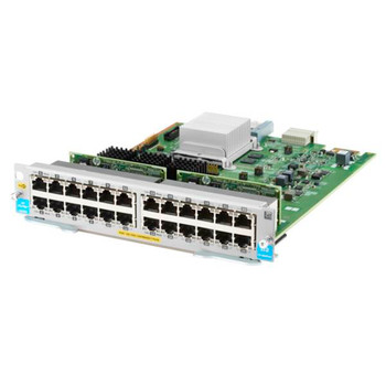 Image for HPE Aruba 5400R 24-port 10/100/1000BASE-T PoE+ Module AusPCMarket