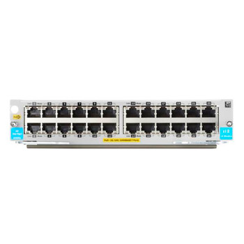 HPE Aruba 5400R 24-port 10/100/1000BASE-T PoE+ Module Product Image 2