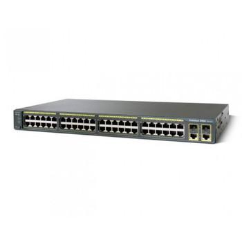 Image for Cisco WS-C2960+48TC-L Catalyst 2960 Plus 48-Port 10/100 LAN Base Switch AusPCMarket