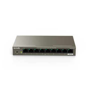 Image for Tenda TEG1109P-8-102W 9-Port Gigabit Unmanaged Ethernet Switch with 8-Port PoE AusPCMarket