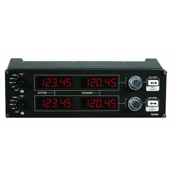 Image for Logitech G Flight Radio Panel Professional Simulation Radio Controller AusPCMarket