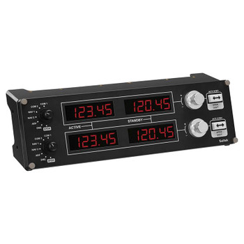 Logitech G Flight Radio Panel Professional Simulation Radio Controller Product Image 2
