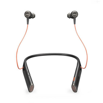 Image for Plantronic Voyager 6200 UC Bluetooth Neckband Headset with Earbuds - Black AusPCMarket