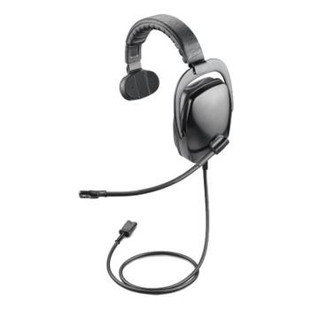 Image for Plantronics SHR2082-01 Single-Ear Circumaural Noise-Cancelling Headset AusPCMarket