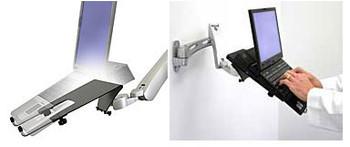 Ergotron LX Notebook Tray Adjustable Open-Sided Mountin Product Image 2