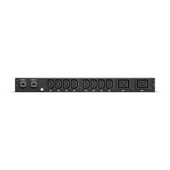 Image for CyberPower PDU20SWHVCEE10AT 1U Horizontal 10-Outlet 16A Switched ATS PDU AusPCMarket