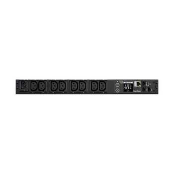 Image for CyberPower PDU31004 1U 8-Outlet 10A/12A Monitored PDU AusPCMarket