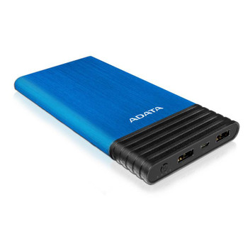 Image for Adata X7000 7000mAh Slim Aluminum Power Bank - Blue AusPCMarket
