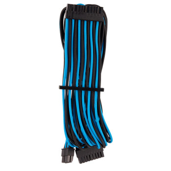 Corsair Premium Individually Sleeved PSU Cables Pro Kit - Blue/Black Product Image 2