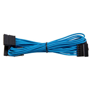 Image for Corsair SATA Premium Sleeved Cable Type 4 Gen 3 - Blue AusPCMarket