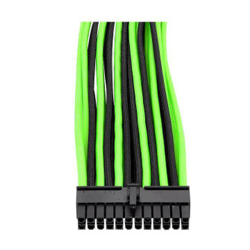 Thermaltake TtMod Sleeved PSU Extension Cable Set – Green/Black Product Image 2