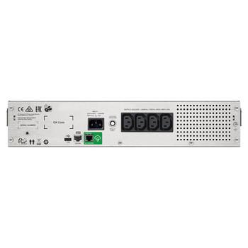 APC SMC1500I-2UC 1500VA 230V LCD RM Line Interactive Sinewave 2U Smart UPS Product Image 2