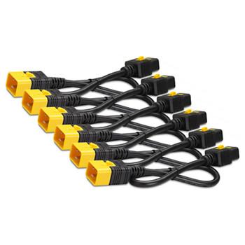 Image for APC AP8712S Power Cord Kit (6 ea), Locking, C19 to C20, 0.6m AusPCMarket