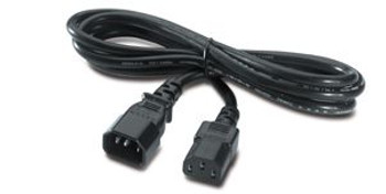 Image for APC IEC320 Male To Female Extension Power Cable 2.5M AusPCMarket