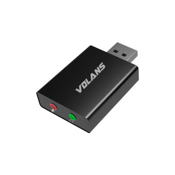 Image for Volans UA01 Aluminium USB3.0 Audio Adapter AusPCMarket