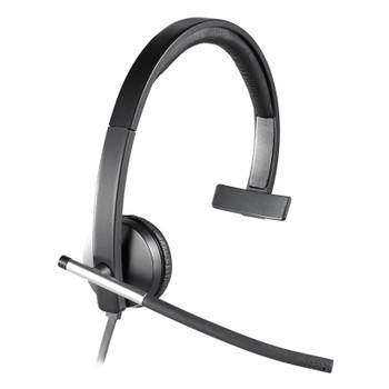 Image for Logitech H650E On-Ear Mono Headset AusPCMarket