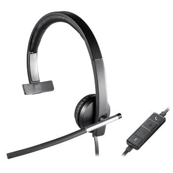 Logitech H650E On-Ear Mono Headset Product Image 2