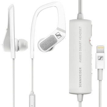 Sennheiser Ambeo Smart Headset with 3D Audio Recording - White Product Image 2