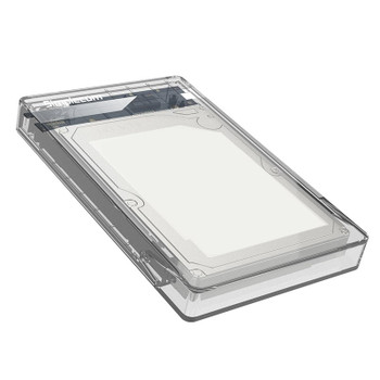 Image for Simplecom SE203 2.5in SATA HDD/SSD to USB 3.0 Hard Drive Enclosure - Transparent AusPCMarket