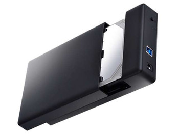 Orico 3588US3 USB 3.0 Tool Free External 3.5in HDD Enclosure - Black Product Image 2