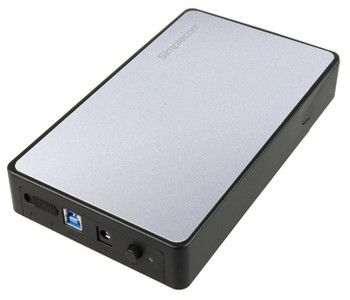 Image for Simplecom SE325 3.5in SATA to USB 3.0 Hard Disk Drive Enclosure - Silver AusPCMarket