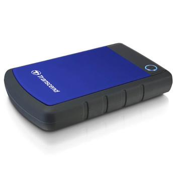 Transcend StoreJet 25H3 1TB USB 3.0 Portable Hard Drive - Blue Product Image 2