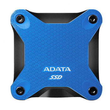 Adata SD600Q 240GB USB 3.2 Gen 1 Portable External 3D NAND SSD - Blue Product Image 2