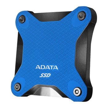 Image for Adata SD600Q 480GB USB 3.2 Gen 1 Portable External 3D NAND SSD - Blue AusPCMarket