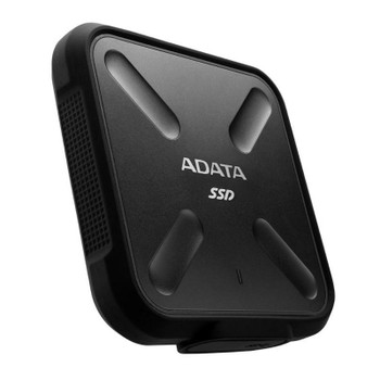 Adata SD700 512GB USB 3.1 Portable External Rugged SSD Hard Drive - Black Product Image 2