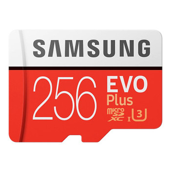 Image for Samsung 256GB microSDXC EVO Plus UHS-I Class 10 Memory Card - No Adapter AusPCMarket