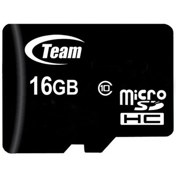 Team 16GB Class 10 MicroSDHC Flash Card with SD Card Adapter Class Product Image 2