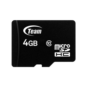 Image for Team SDHC 4GB Class 10 MicroSD Card - TUSDH4GCL1003 AusPCMarket