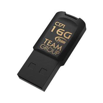 Image for Team C171 16GB USB 2.0 Flash Drive - Black - TC17116GB01 AusPCMarket