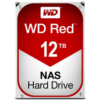 Image for Western Digital WD WD120EFAX 12TB Red 3.5in IntelliPower SATA NAS Hard Drive AusPCMarket