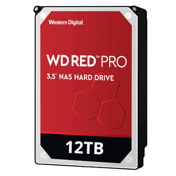 Image for Western Digital WD WD121KFBX 12TB Red PRO 3.5in IntelliPower SATA3 NAS Hard Drive AusPCMarket
