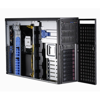 Image for Supermicro SuperWorkstation 7049GP-TRT CPU (0/2) RAM (0/16) GPU (0/4) 2200W RPS AusPCMarket