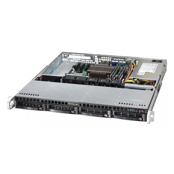 Image for Supermicro SuperServer 5019S-M 1U Barebone CPU (0/1) RAM (0/4) HDD (0/4) AusPCMarket