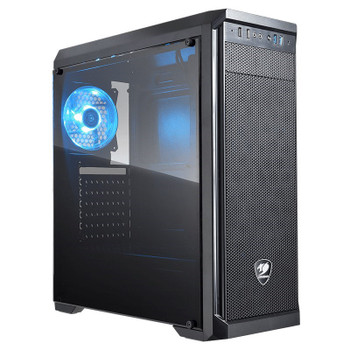 Image for Cougar MX330-S Windowed Mid-Tower ATX Case with 500W PSU AusPCMarket