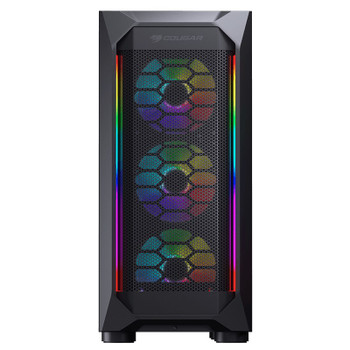 Cougar MX410 Mesh-G RGB Tempered Glass Mid-Tower ATX Case Product Image 2