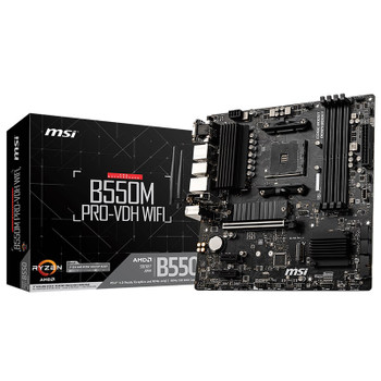 Image for MSI B550M PRO-VDH Wi-Fi AM4 Micro-ATX Motherboard AusPCMarket