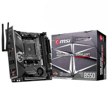 Image for MSI MPG B550I GAMING EDGE Wi-Fi AM4 Mini-ITX Motherboard AusPCMarket